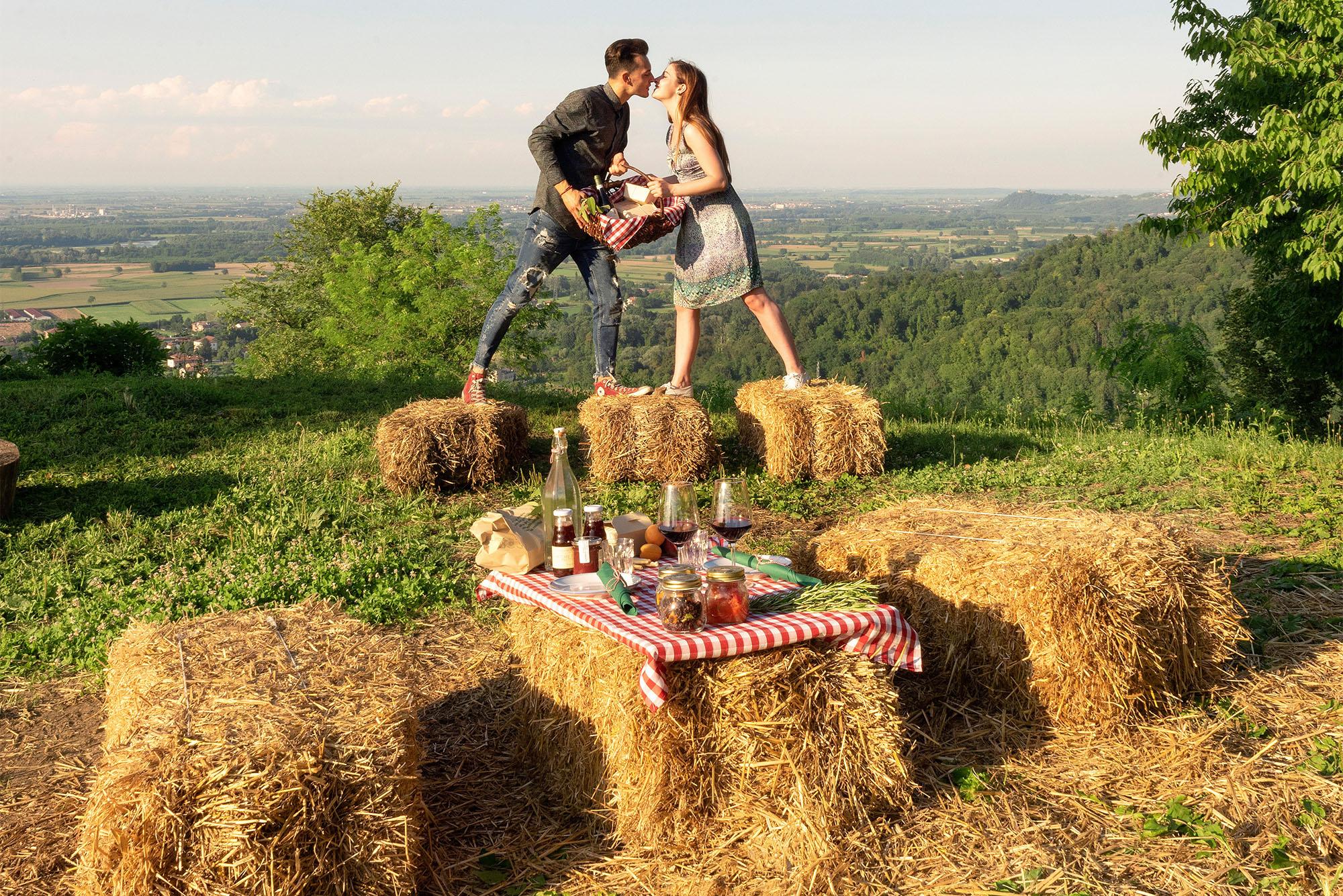 Agriturismo Parco del Grep - Monferrato, Piemonte - Il picnic alle Torri del Grep