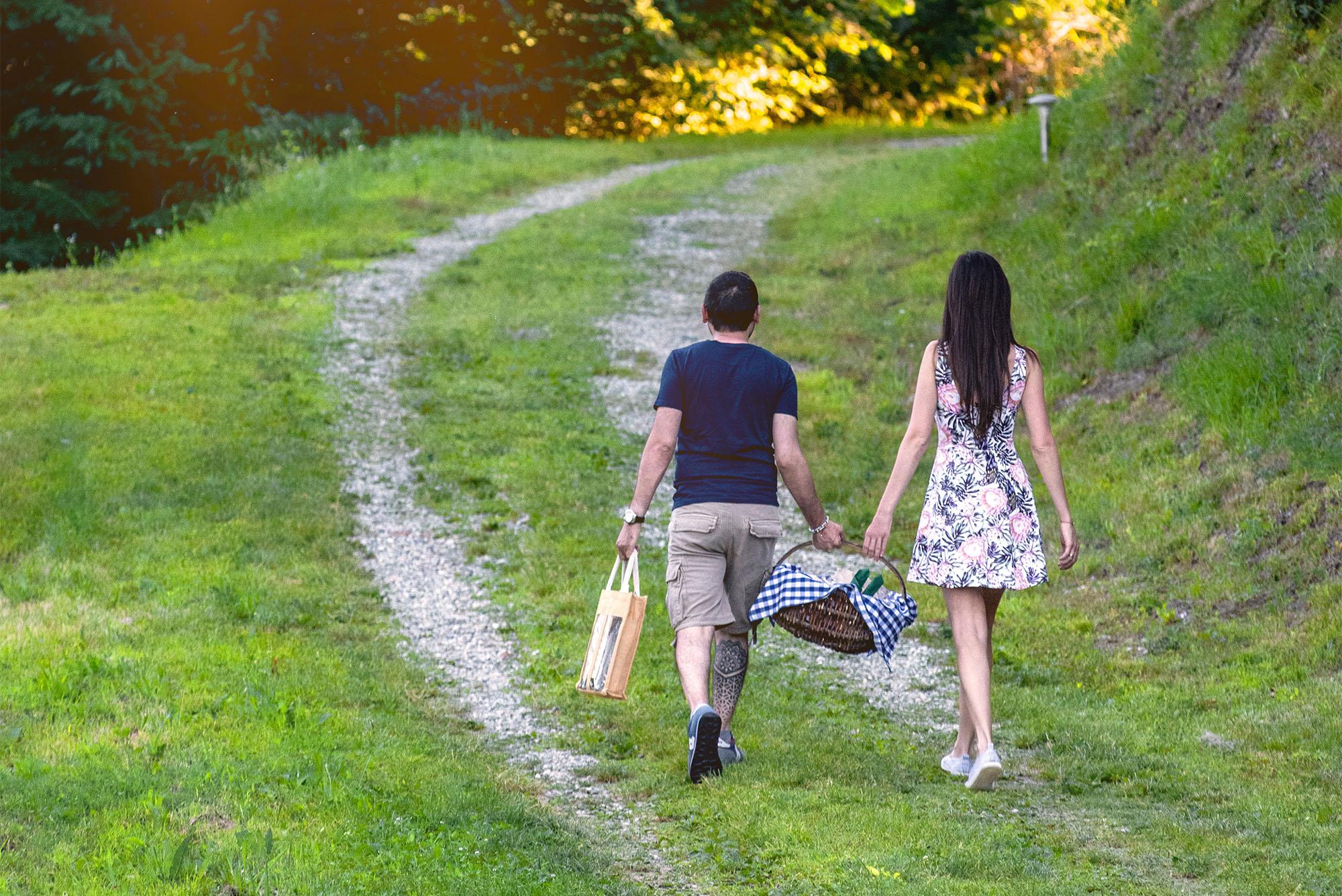 Agriturismo Parco del Grep - Monferrato, Piemonte - Verso le Torri del Grep per un picnic romantico