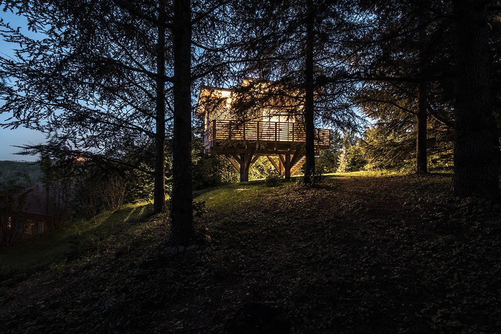 Agriturismo Parco del Grep - Monferrato, Piemonte - Serata incantevole nella Casa sugli alberi La Pineta