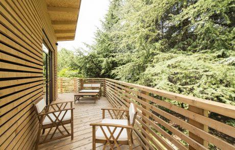 Agriturismo Parco del Grep - Monferrato, Piemonte - Terrazza della casa sugli alberi La Pineta