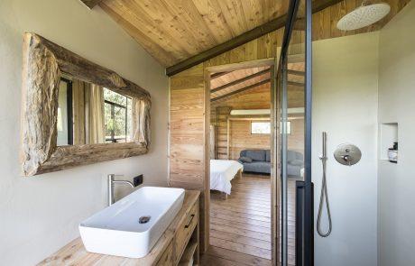 Agriturismo Parco del Grep - Monferrato, Piemonte - Il bagno della casa sugli alberi La Pineta