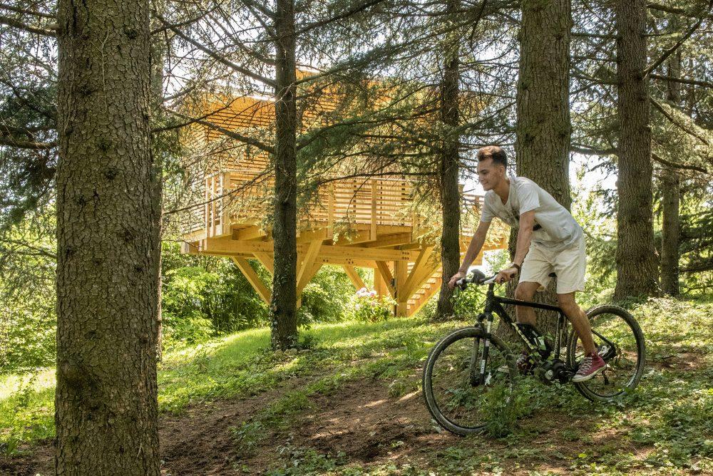 Agriturismo Parco del Grep - Monferrato, Piemonte - in bici alla Casa sugli alberi La Pineta