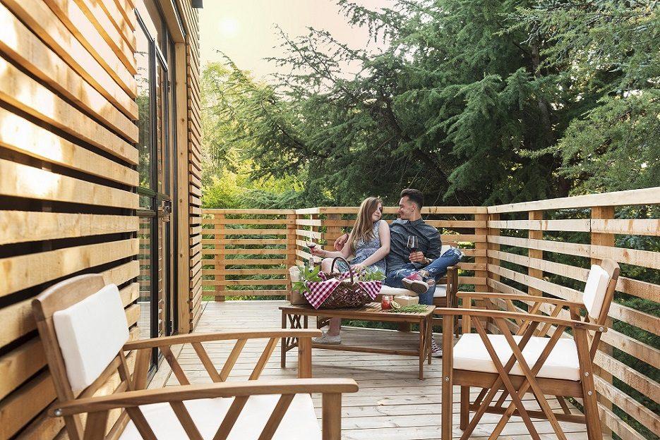 Agriturismo Parco del Grep - Monferrato, Piemonte - Picnic sulla terrazza della Casa sugli alberi La Pineta