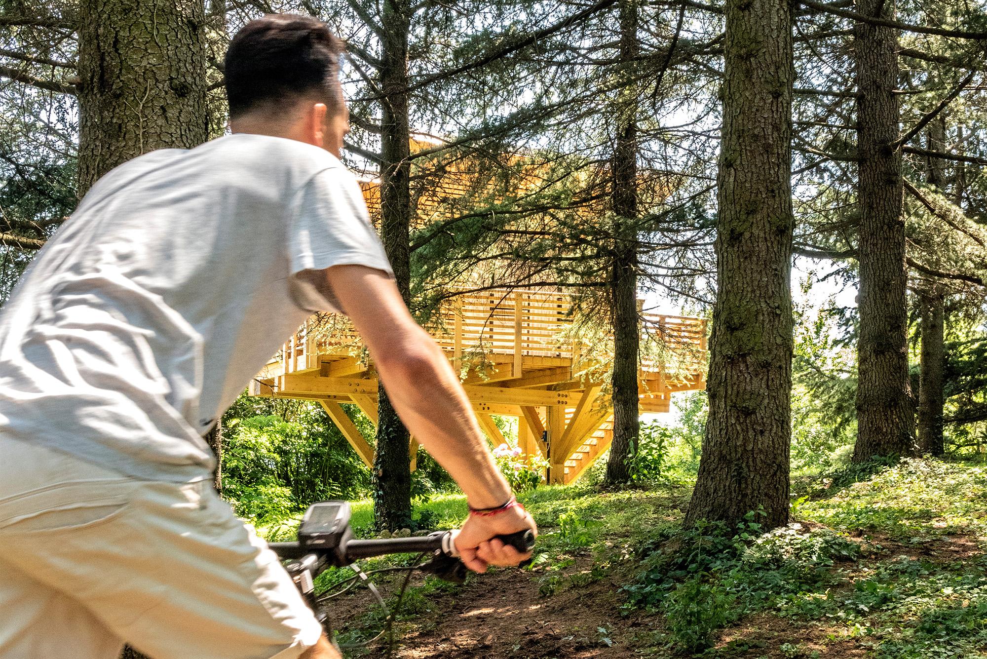Agriturismo Parco del Grep - Monferrato, Piemonte - In e-bike alla Casa La Pineta