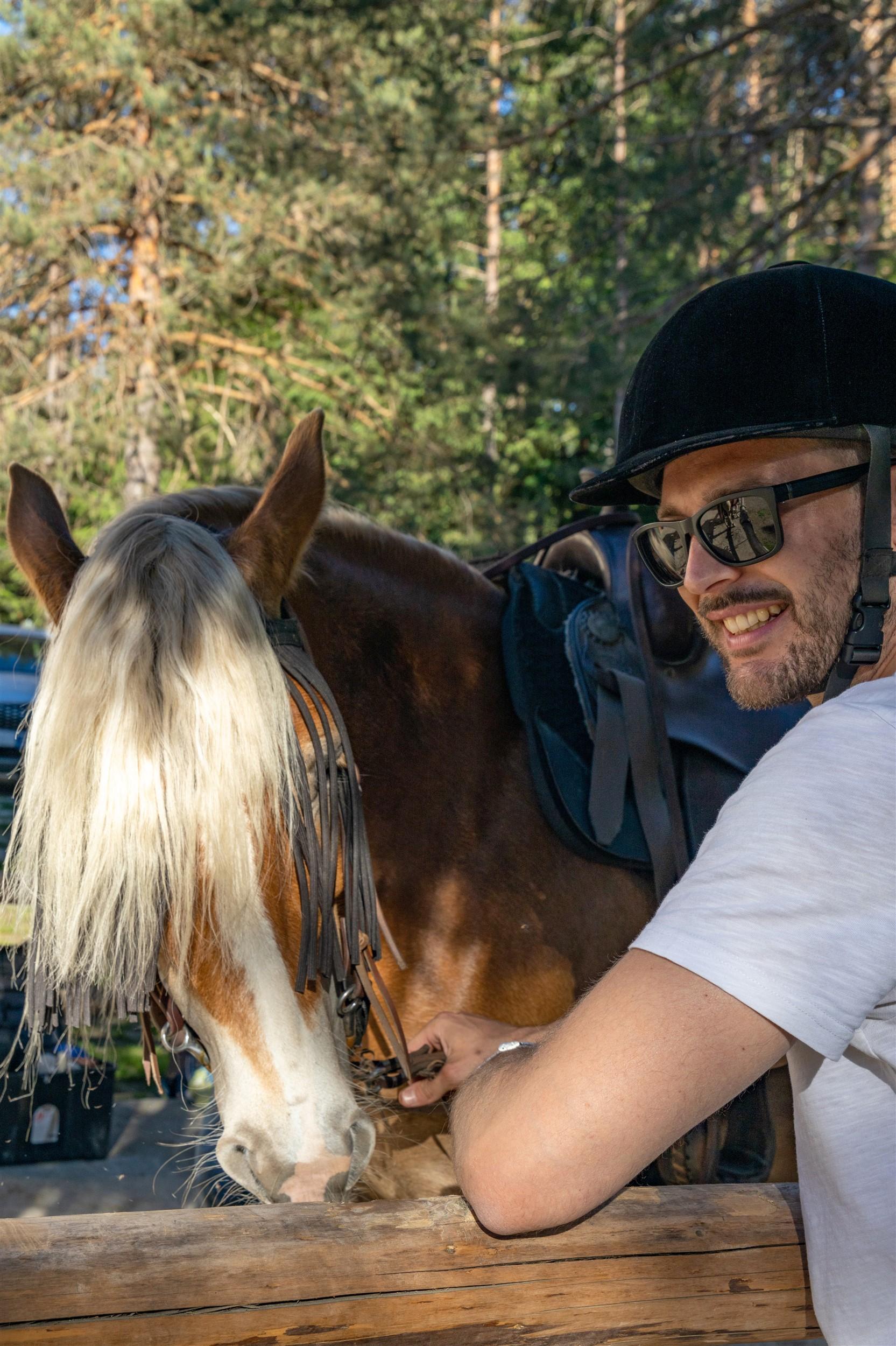 Gite a cavallo - Agriturismo Parco del Grep - Monferrato, Piemonte - ph. Marco Benedetto Cerini