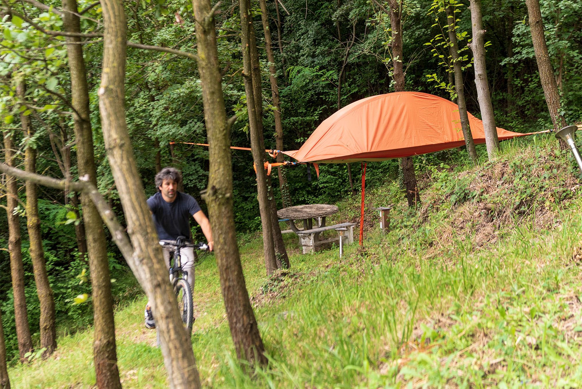 Agriturismo Parco del Grep - Monferrato, Piemonte - Tenda sugli alberi
