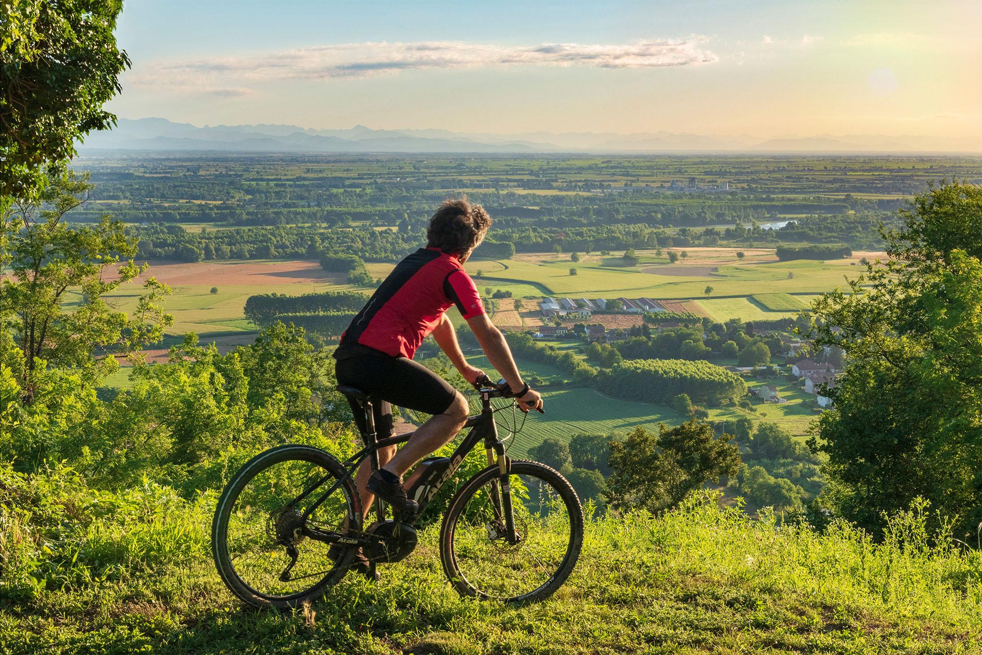 E-bike all'Agriturismo Parco del Grep - Monferrato, Piemonte