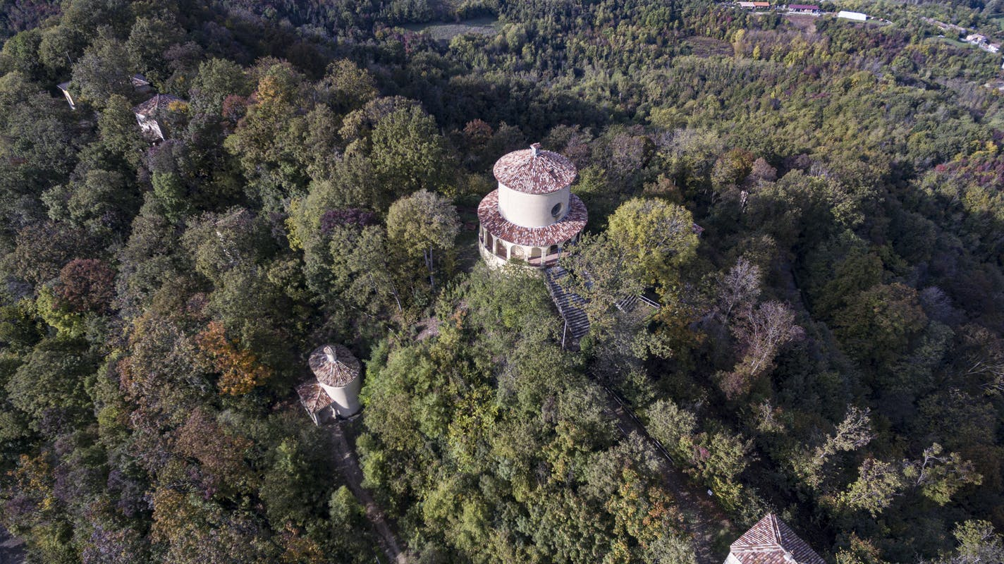 Siti culturali - Agriturismo Parco del Grep - Monferrato, Piemonte - Sacro Monte di Crea ©FAI-Fondo Ambiente Italiano